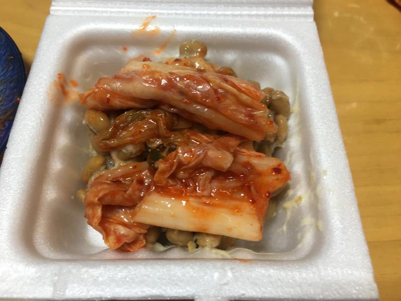 納豆とキムチ