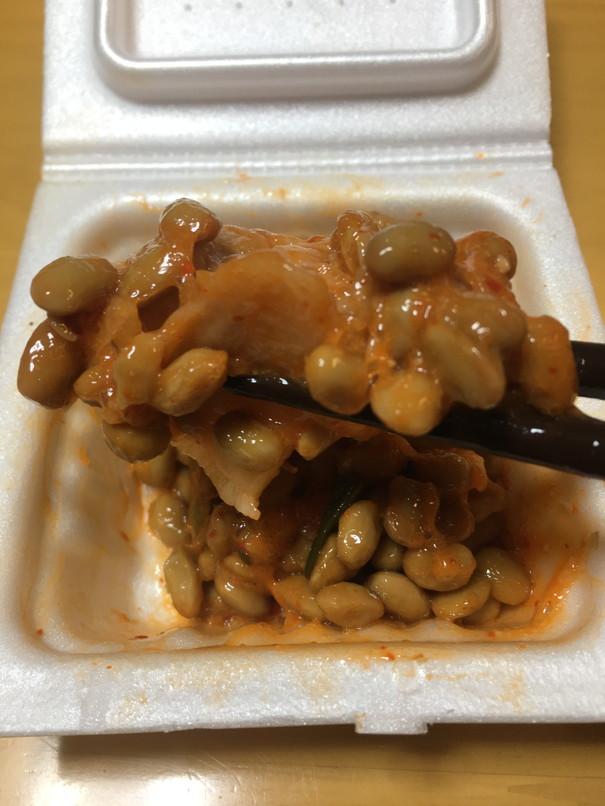 納豆とジャンキムチ