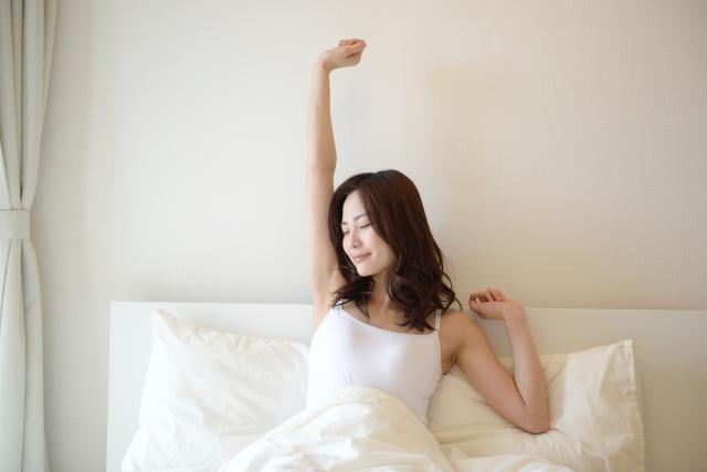 寝起きイメージ