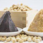 大豆と味噌の写真